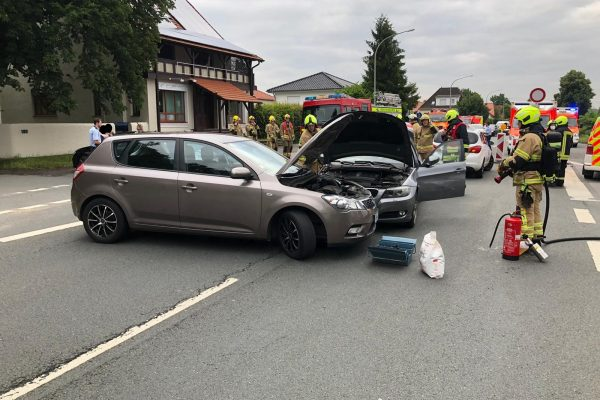 Unfall in Sennelager