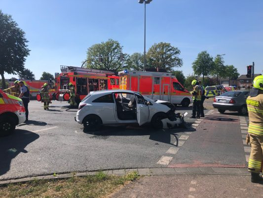 Unfall in Paderborn